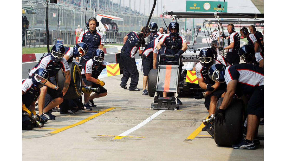 Williams - Formel 1 - GP Indien - 26. Oktober 2013