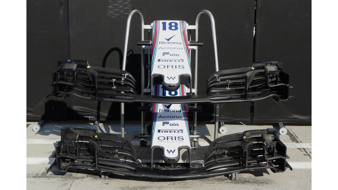 Williams - Formel 1 - GP Italien - 29. August 2018