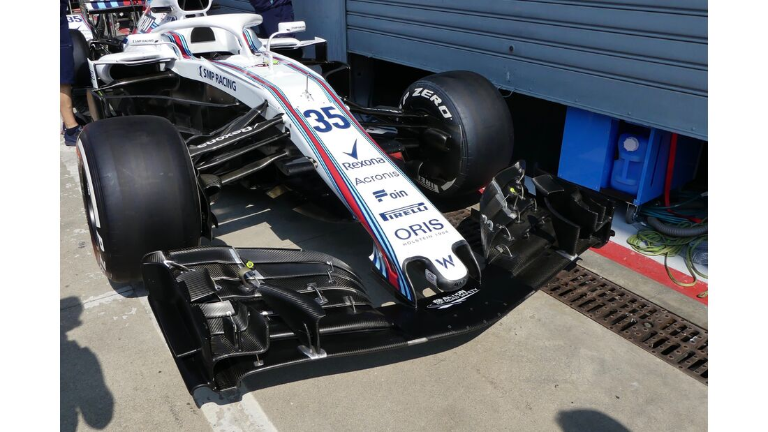 Williams - Formel 1 - GP Italien - 30. August 2018