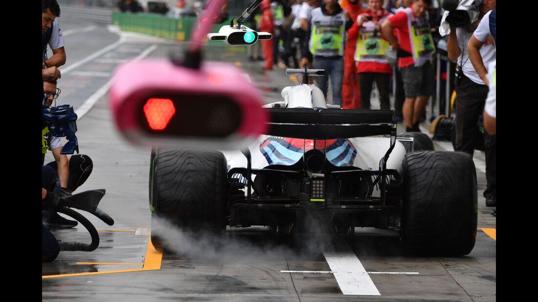 Williams - Formel 1 - GP Italien - 31. August 2018