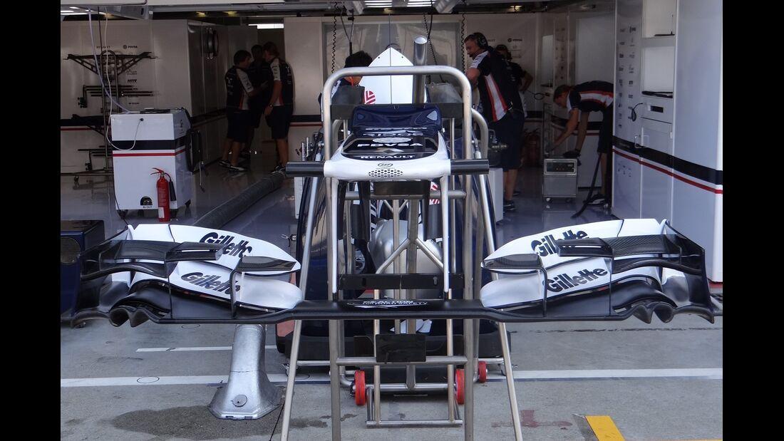 Williams - Formel 1 - GP Italien - 6. September 2012