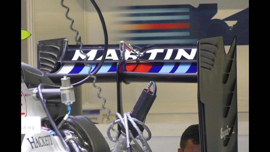 Williams - Formel 1 - GP Italien - Monza - 1. September 2016