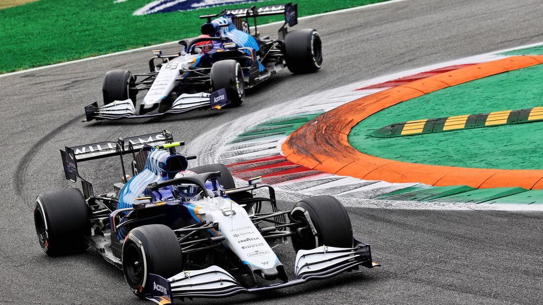 Williams - Formel 1 - GP Italien - Monza - 2021