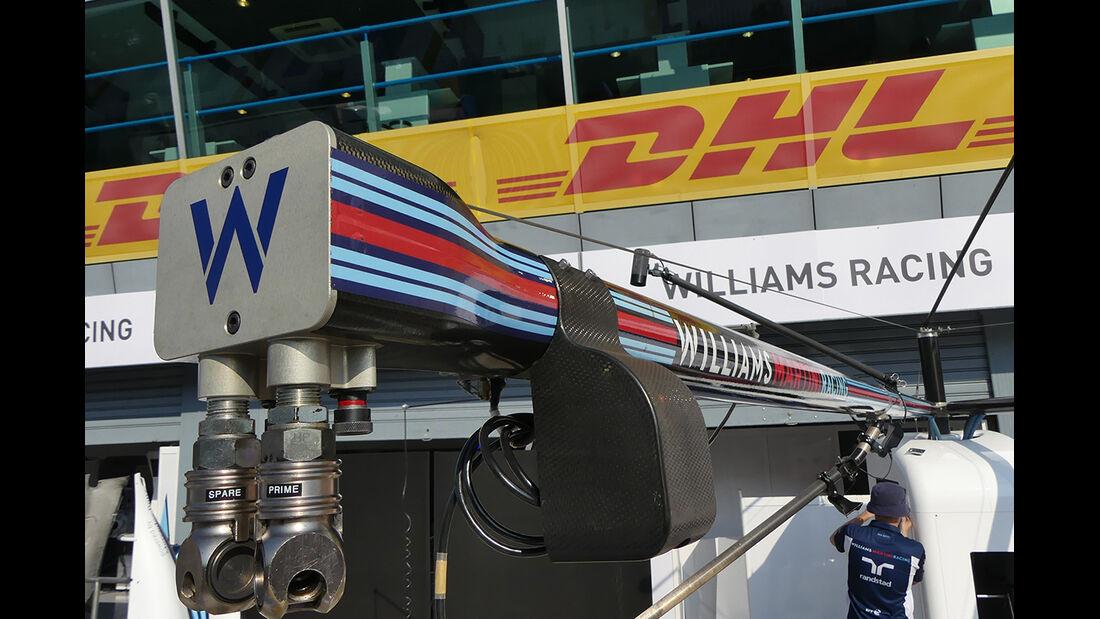 Williams - Formel 1  - GP Italien - Monza - 31. August 2016