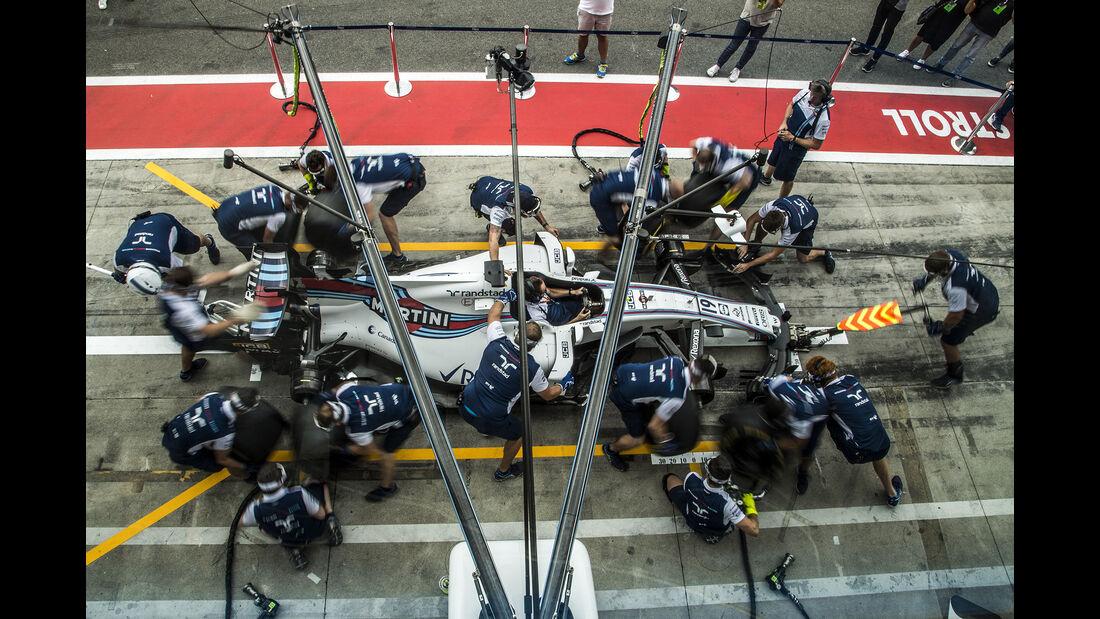 Williams - Formel 1 - GP Italien - Monza - 31. August 2017