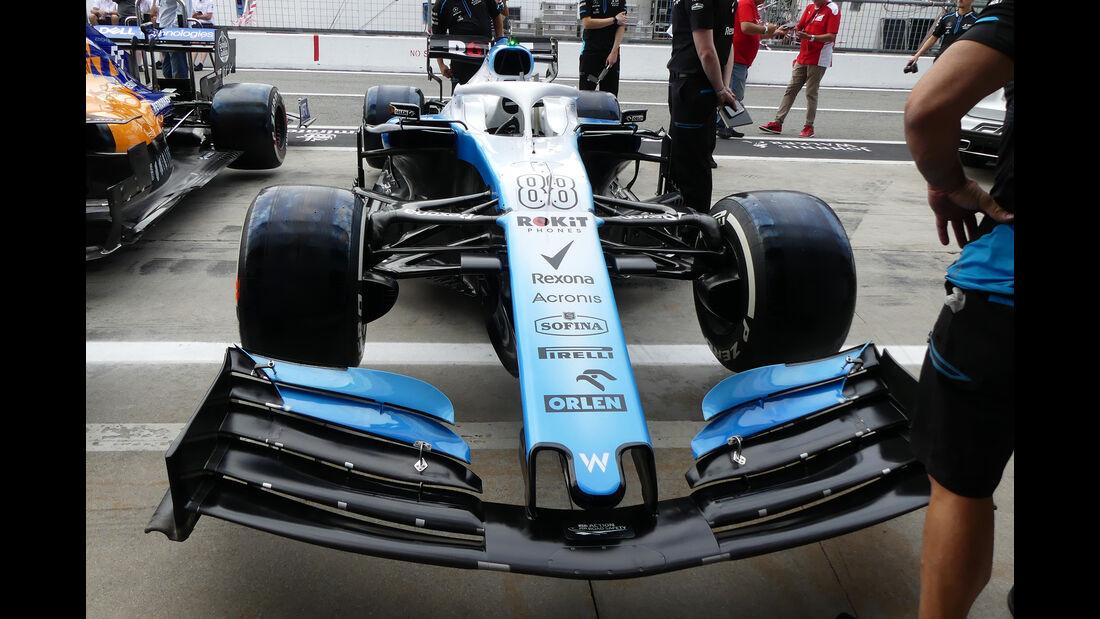 Williams - Formel 1 - GP Italien - Monza - 5. September 2019