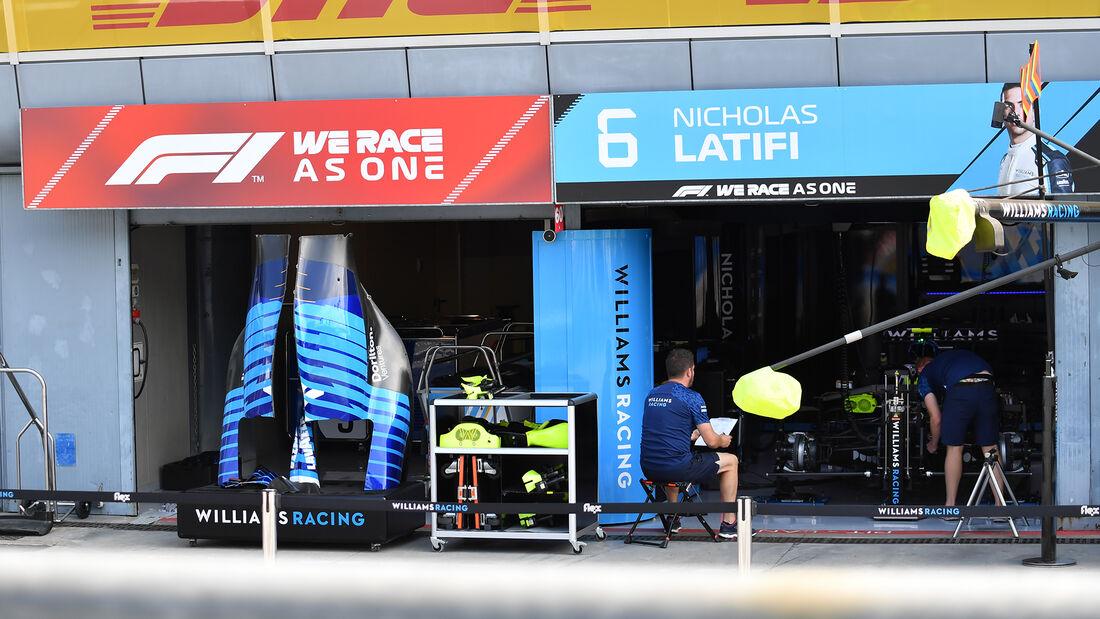 Williams - Formel 1 - GP Italien - Monza - 9. September  2021