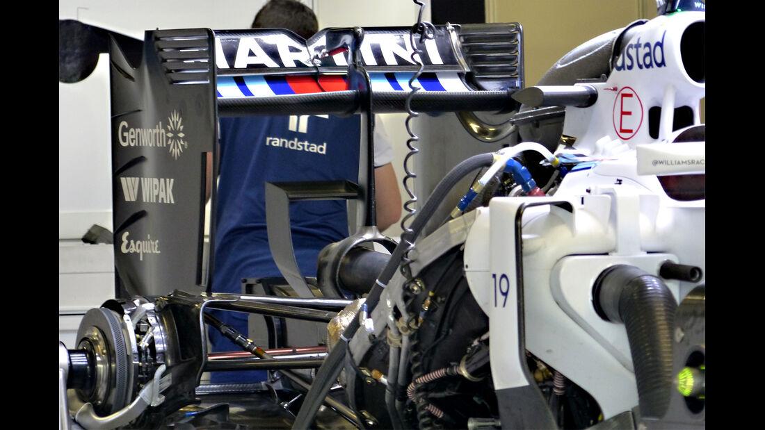 Williams - Formel 1 - GP Japan - Suzuka - 24. September 2015
