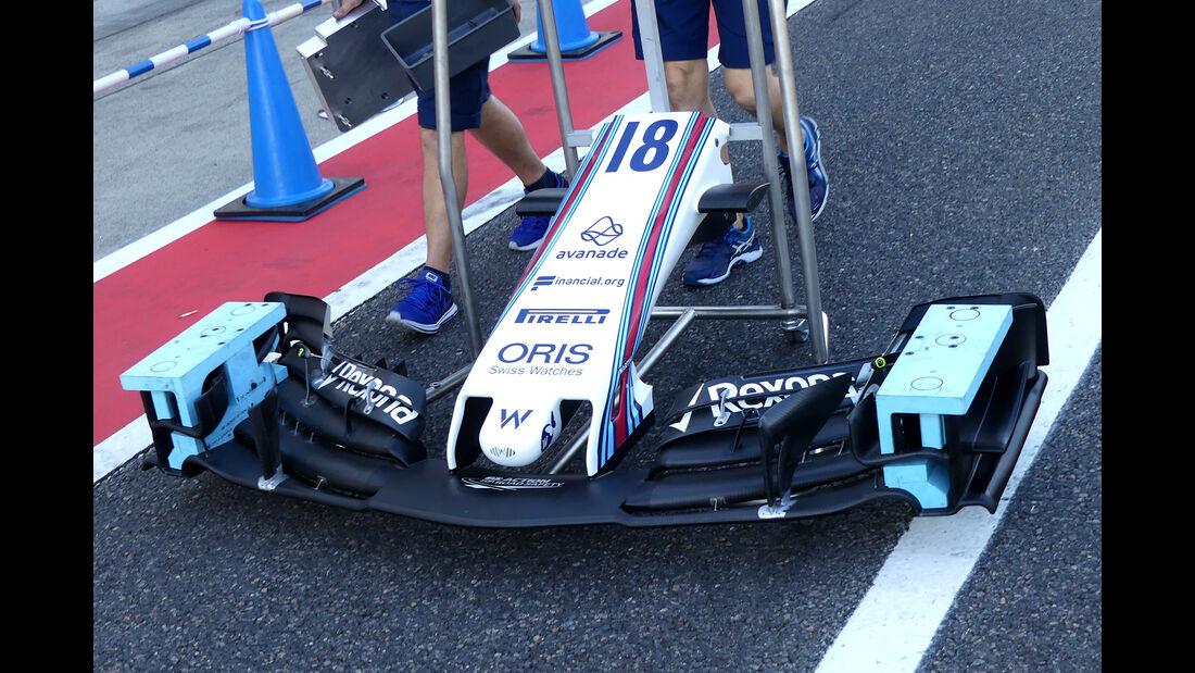 Williams - Formel 1 - GP Japan - Suzuka - 4. Oktober 2017