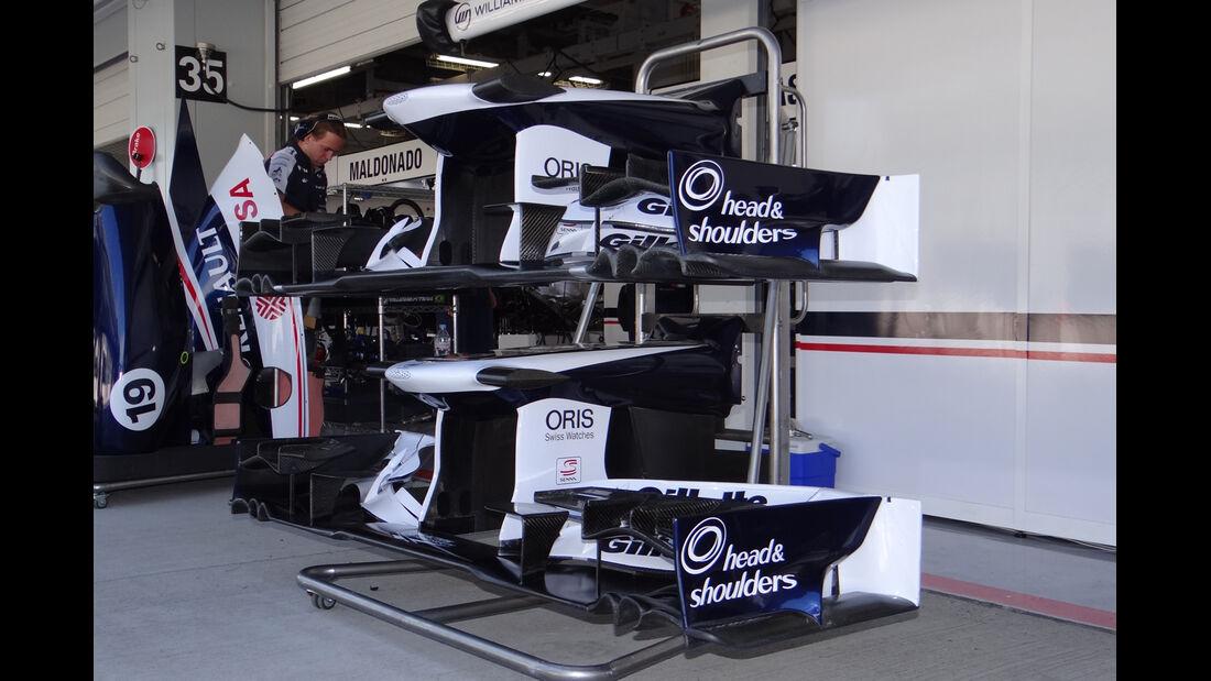 Williams - Formel 1 - GP Japan - Suzuka - 5. Oktober 2012