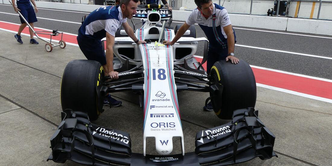 Williams - Formel 1 - GP Japan - Suzuka - 5. Oktober 2017