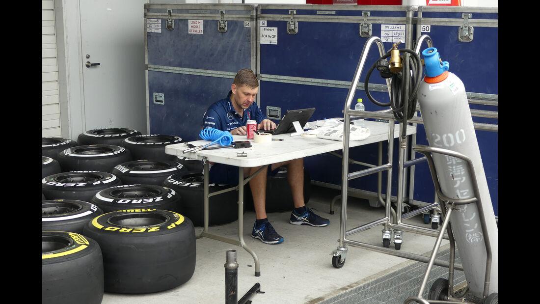 Williams - Formel 1 - GP Japan - Suzuka - Mittwoch - 5.10.2016