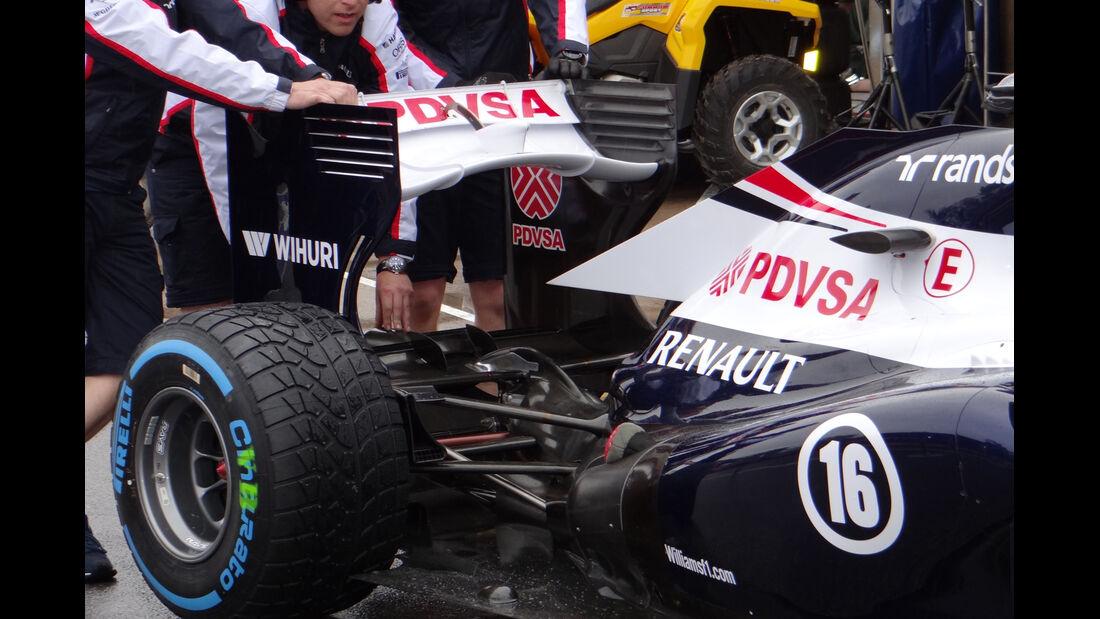 Williams - Formel 1 - GP Kanada - 06. Juni 2013