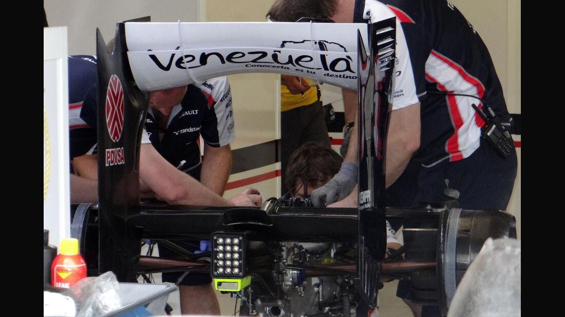 Williams - Formel 1 - GP Kanada 2012 - 8. Juni 2012