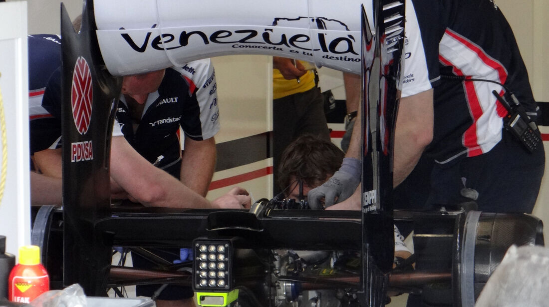 Williams - Formel 1 - GP Kanada 2012 - 8. Juni 2012