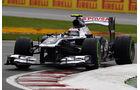 Williams - Formel 1 - GP Kanada 2013