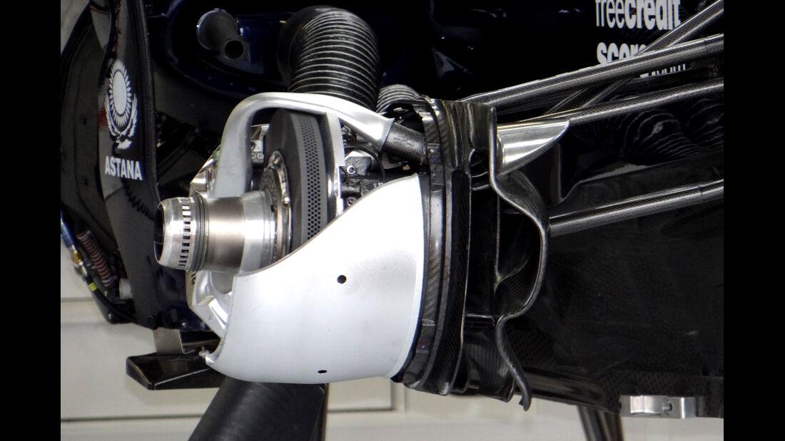 Williams - Formel 1 - GP Kanada - 6. Juni 2013