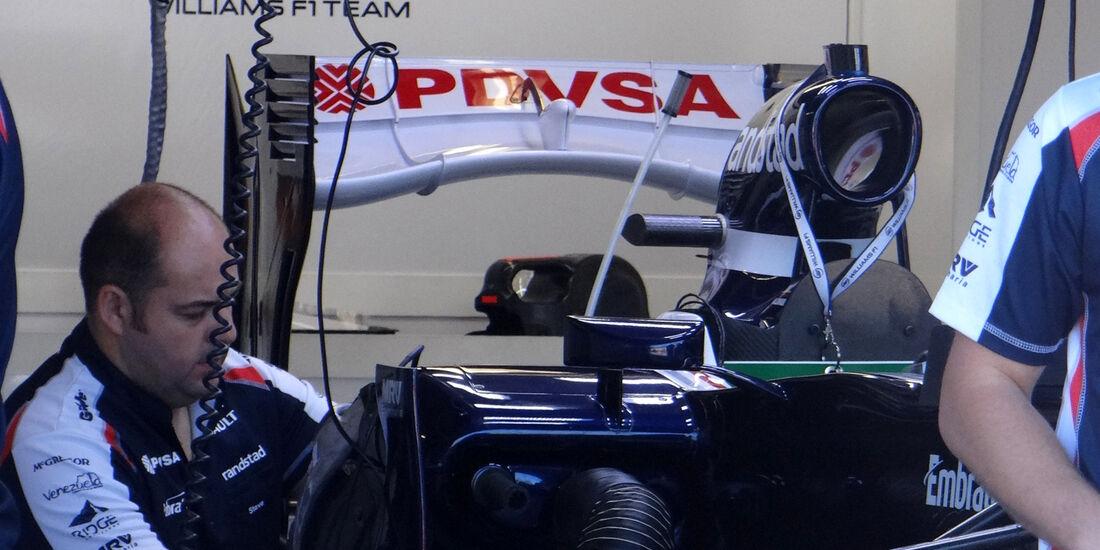 Williams - Formel 1 - GP Kanada - 7. Juni 2012