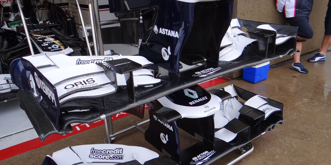Williams - Formel 1 - GP Kanada - 7. Juni 2013