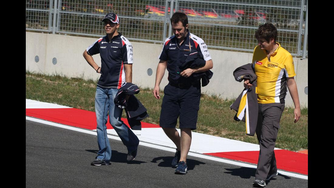 Williams - Formel 1 - GP Korea - 11. Oktober 2012