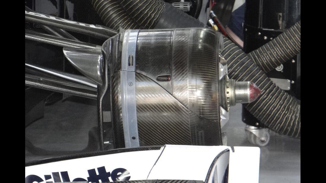 Williams - Formel 1 - GP Korea - 12. Oktober 2012