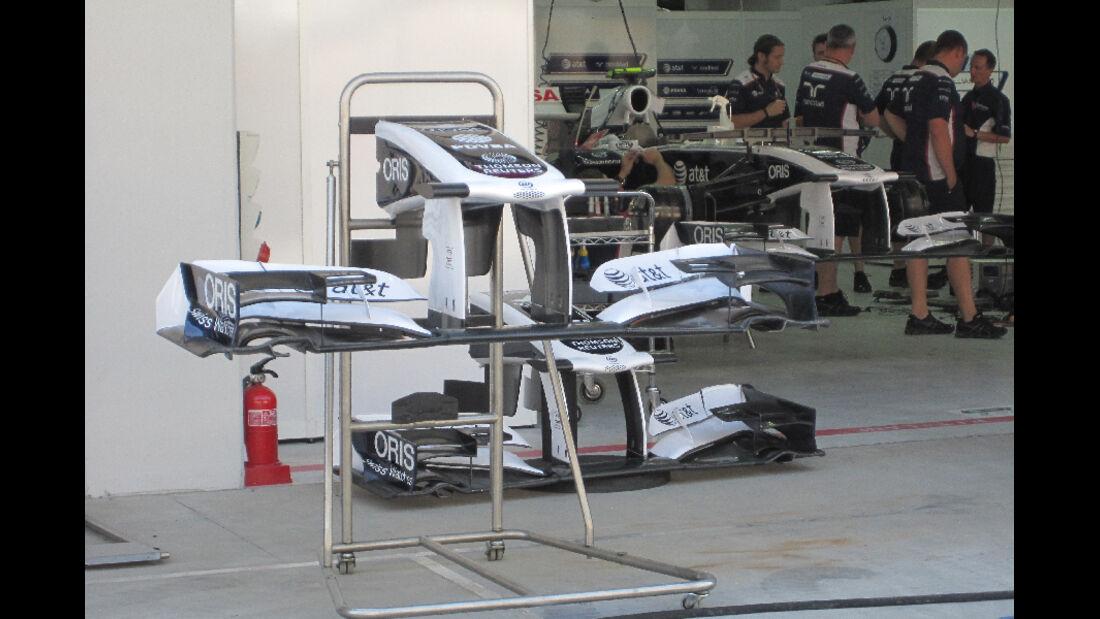 Williams - Formel 1 - GP Korea - 13. Oktober 2011