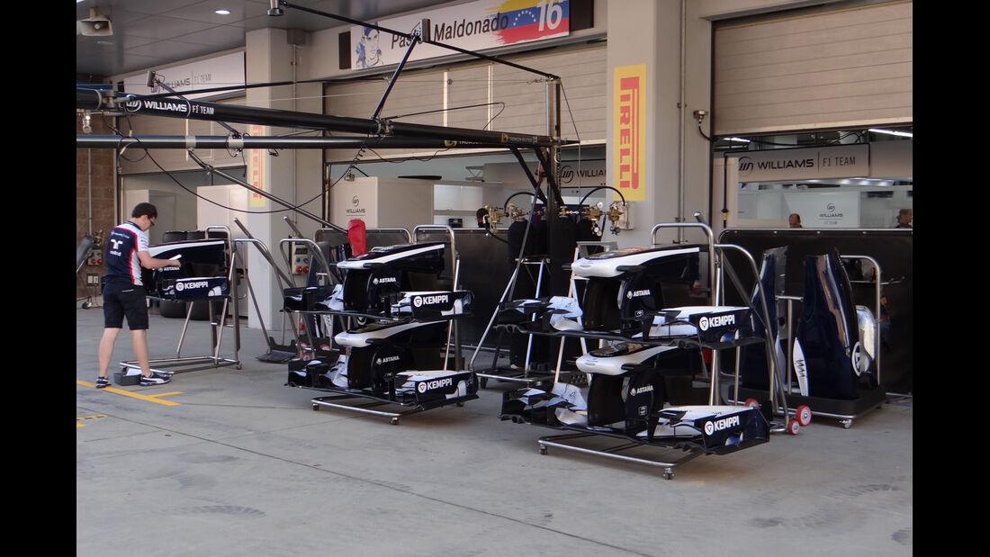 Williams - Formel 1 - GP Korea - 2. Oktober 2013