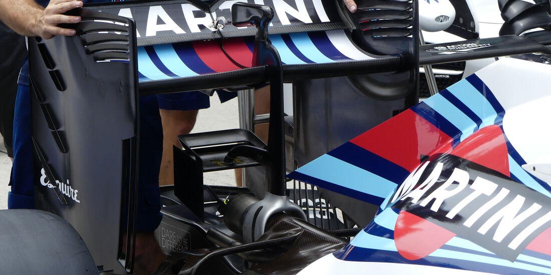 Williams - Formel 1 - GP Malaysia - Donnerstag - 29.9.2016