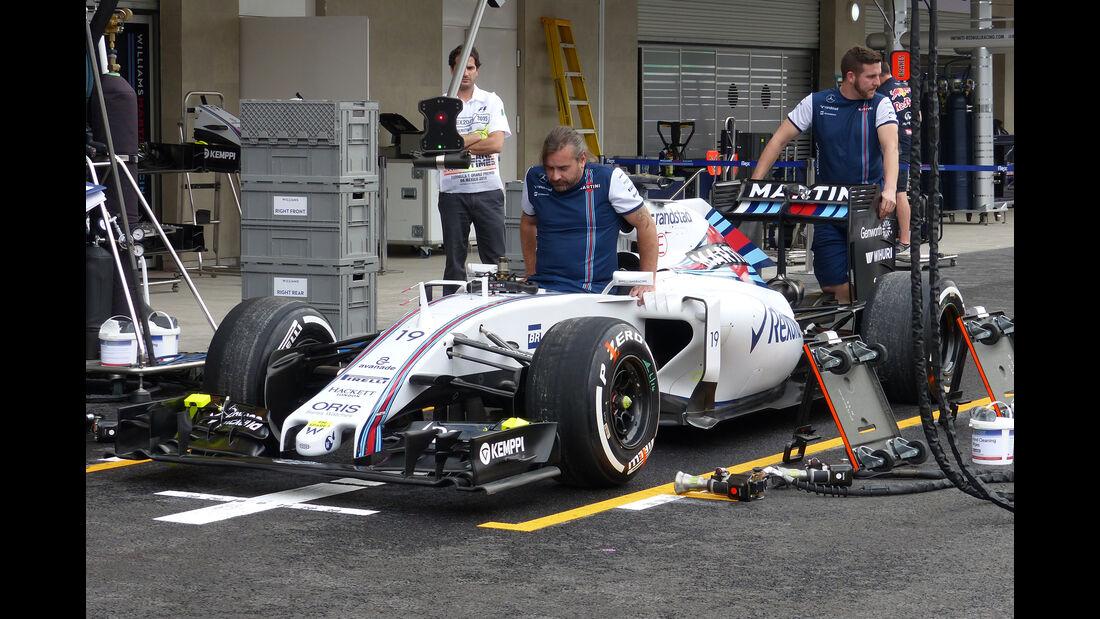 Williams - Formel 1 - GP Mexico - 29. Oktober 2015