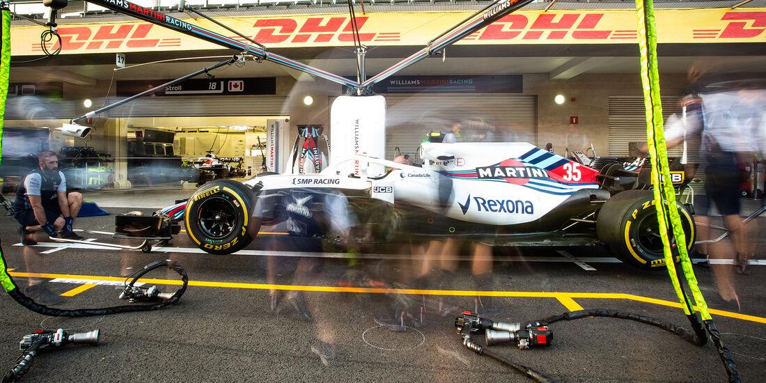 Williams  - Formel 1 - GP Mexiko - 26. Oktober 2018