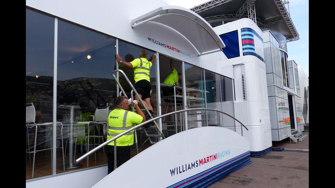 Williams - Formel 1 - GP Monaco - 20. Mai 2014