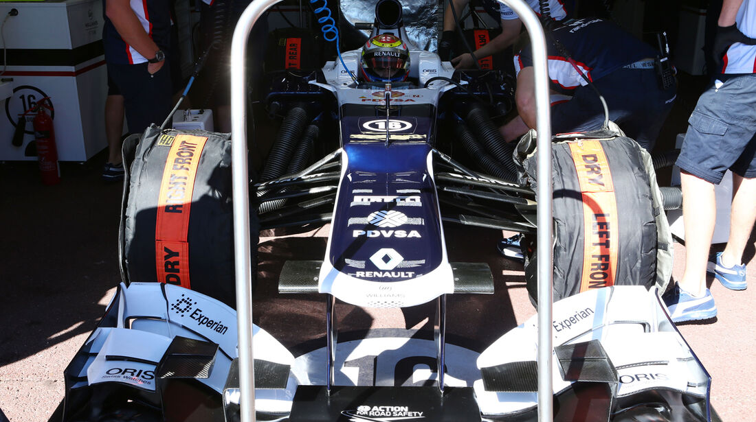 Williams - Formel 1 - GP Monaco - 23. Mai 2013
