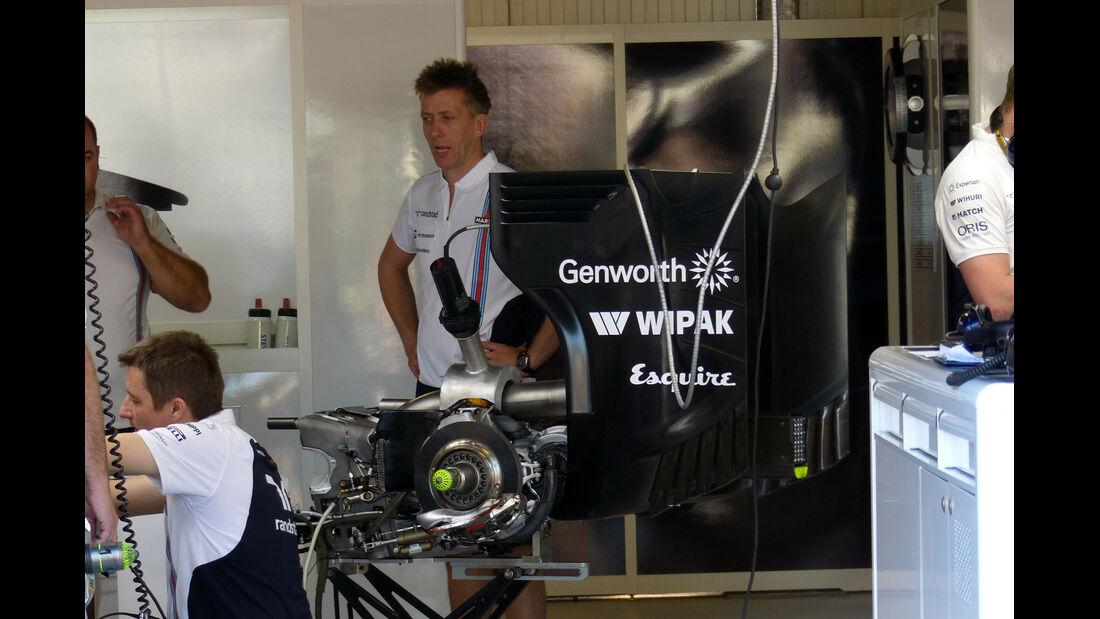 Williams - Formel 1 - GP Monaco - 23. Mai 2014