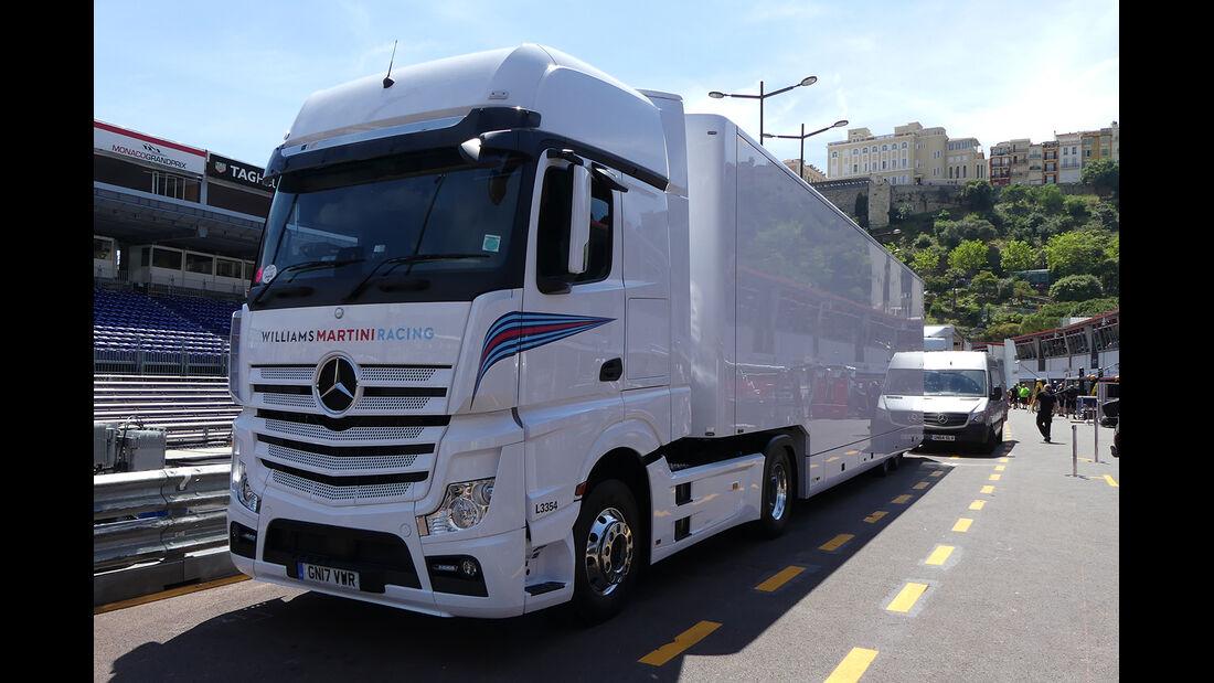 Williams - Formel 1 - GP Monaco - 23. Mai 2017