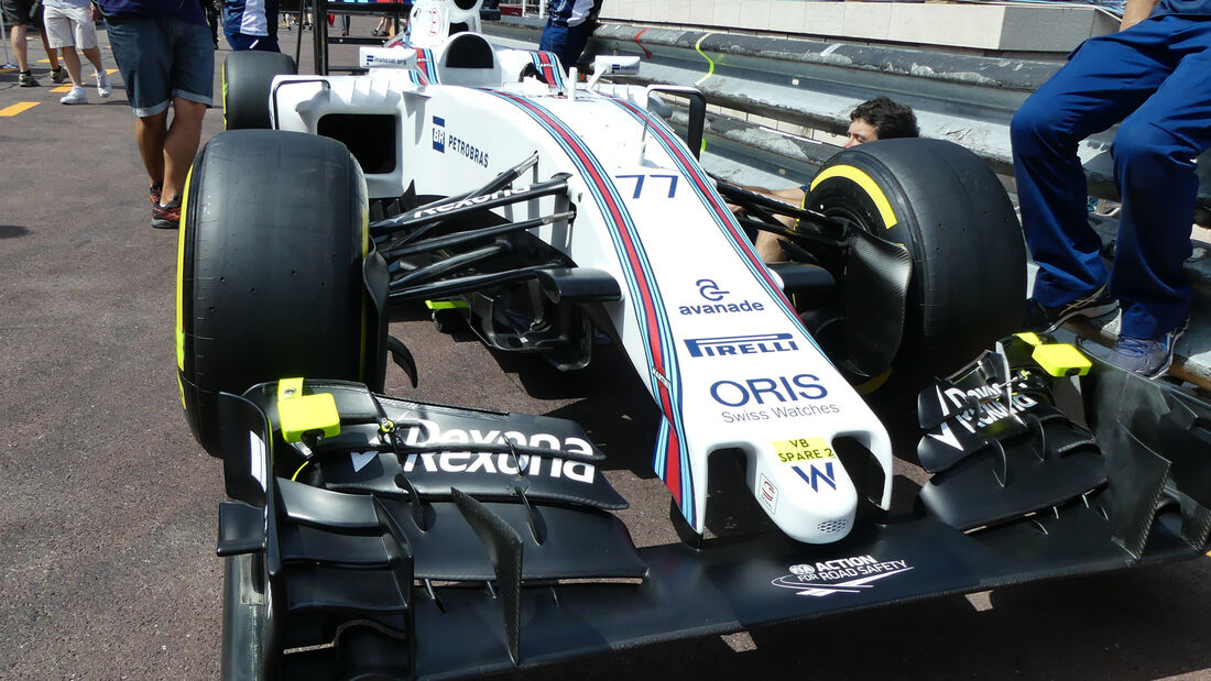 Williams - Formel 1 - GP Monaco - 25. Mai 2016