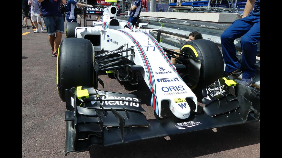 Williams - Formel 1 - GP Monaco - 25. Mai 2016