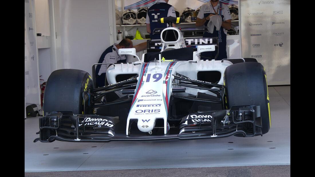 Williams - Formel 1 - GP Monaco - 26. Mai 2017