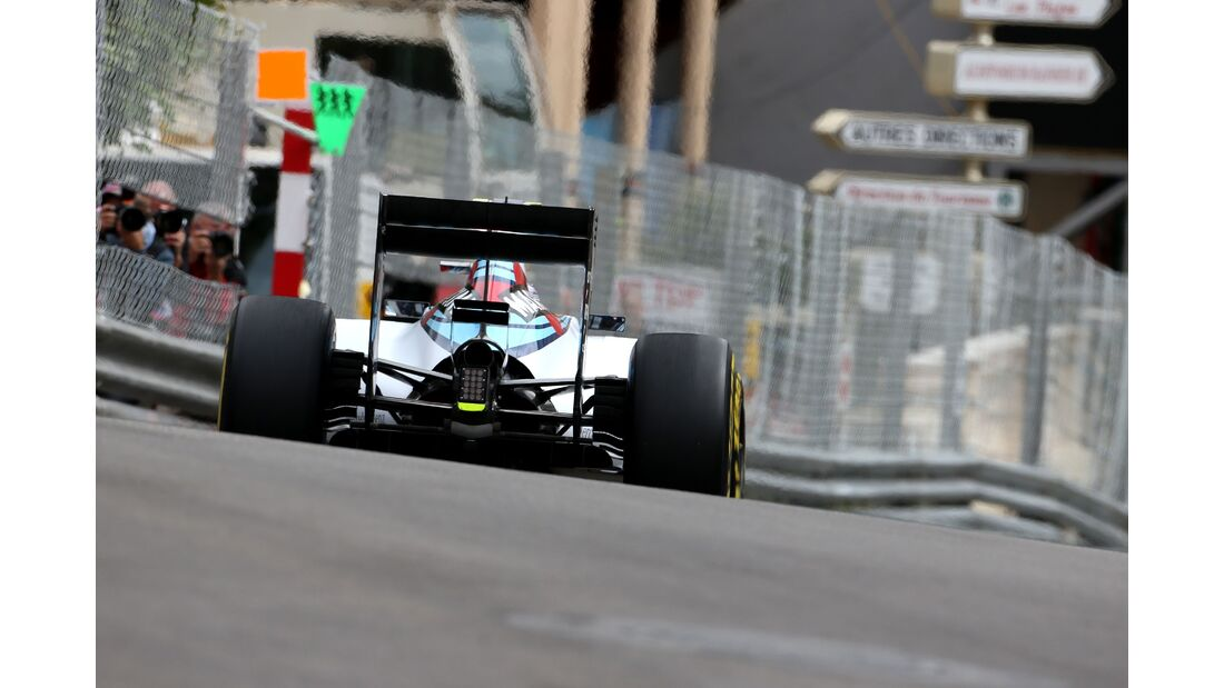 Williams  - Formel 1 - GP Monaco - Donnerstag - 21. Mai 2015