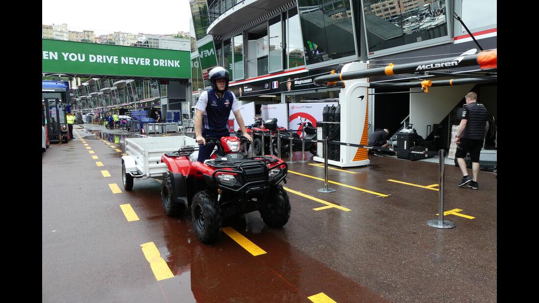 Williams - Formel 1 - GP Monaco - Mittwoch - 22.5.2018