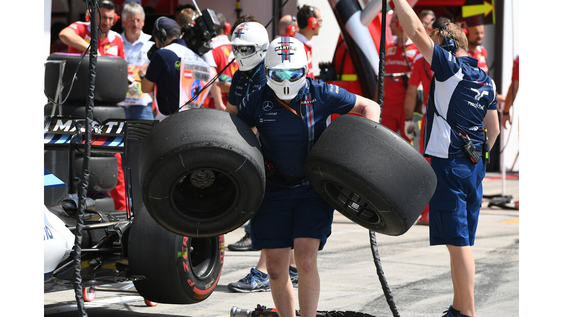 Williams - Formel 1 - GP Österreich - 1. Juli 2016