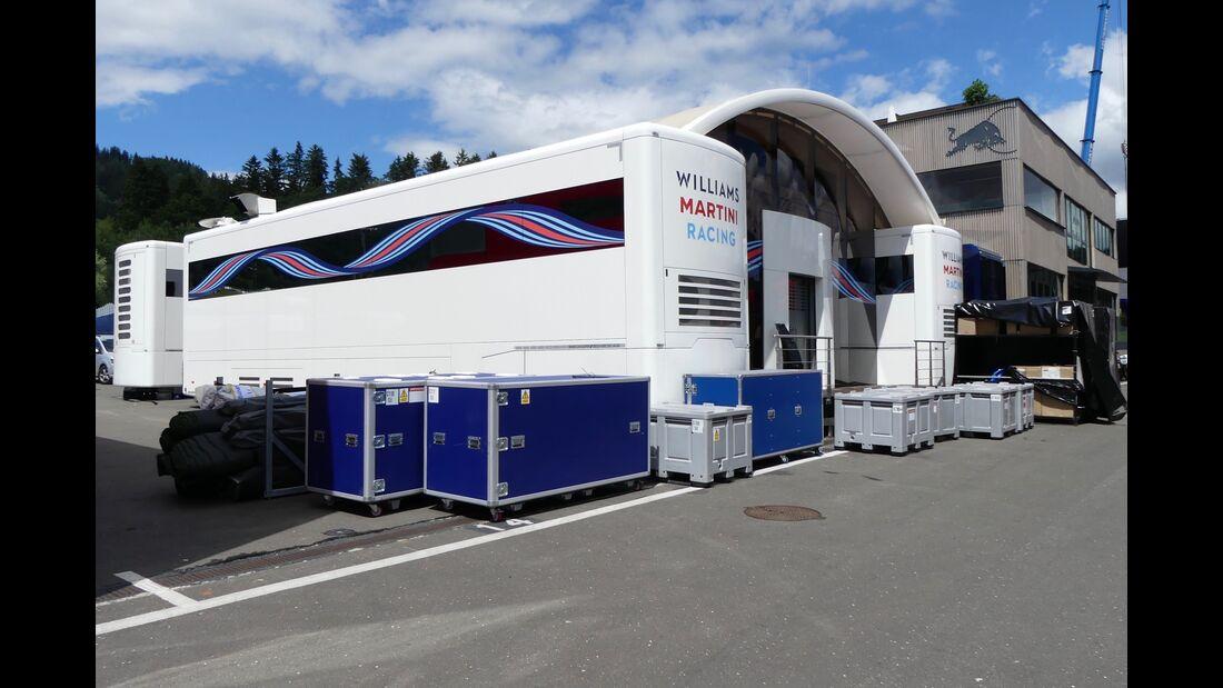 Williams - Formel 1 - GP Österreich - 27. Juni 2018