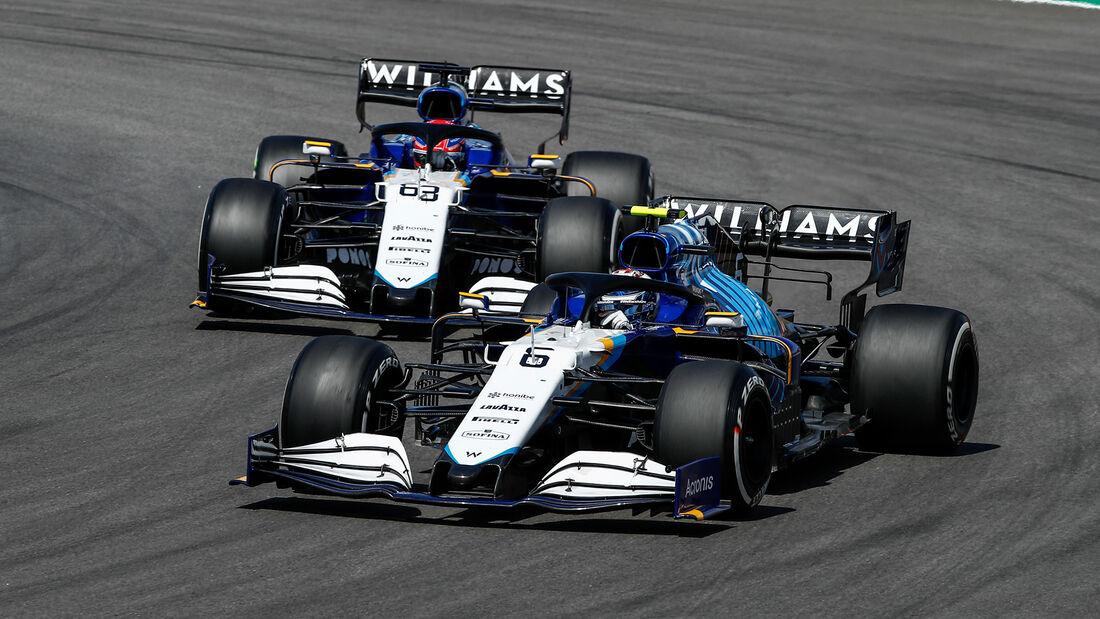 Williams - Formel 1 - GP Portugal 2021
