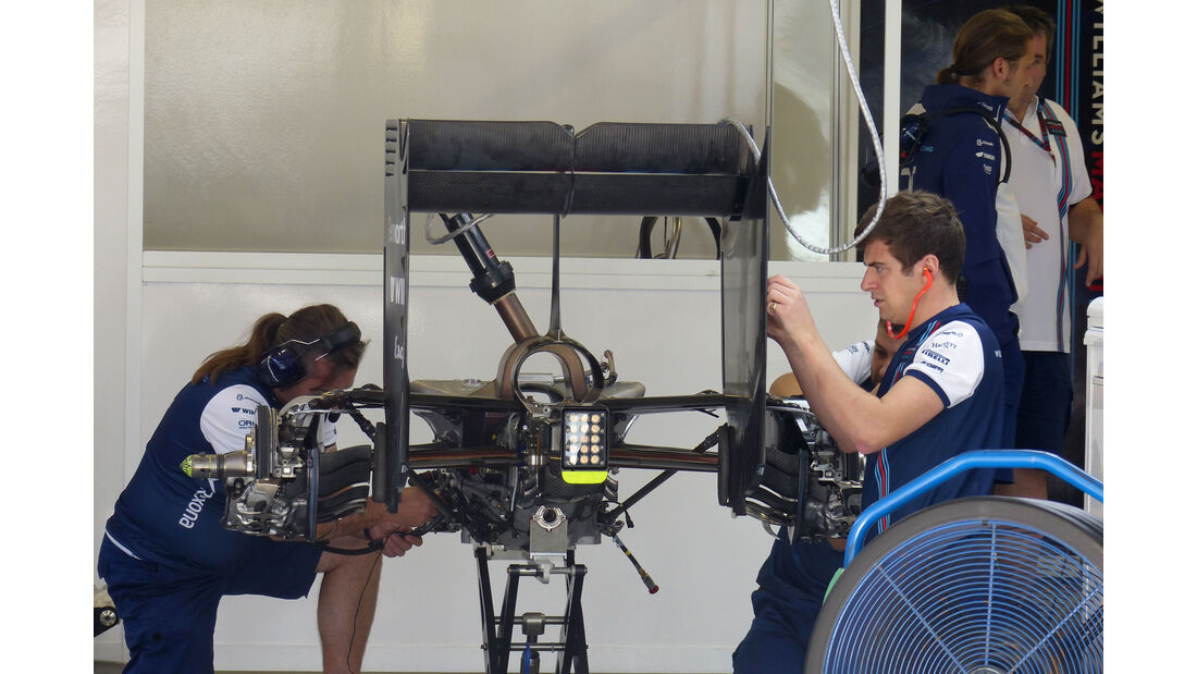 Williams - Formel 1 - GP Russland - Sochi - Donnerstag - 8.10.2015