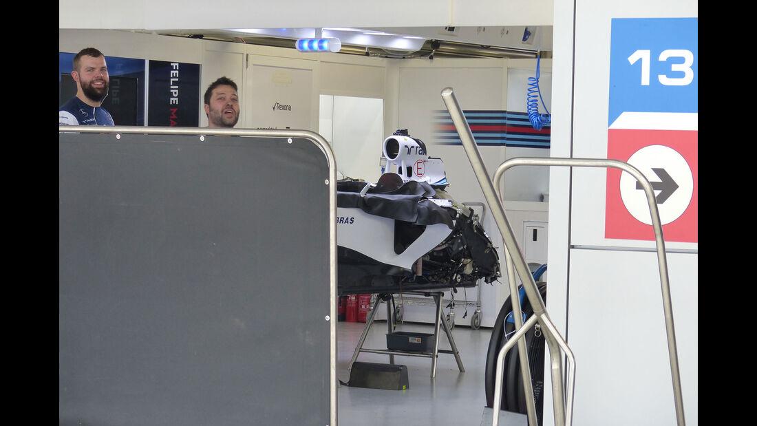 Williams - Formel 1 - GP Russland - Sochi - Mittwoch - 7.10.2015