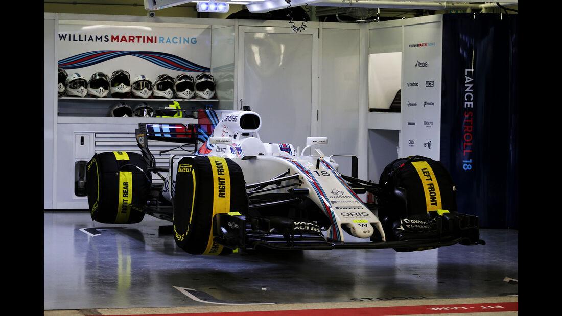 Williams - Formel 1 - GP Russland - Sotschi - 29. April 2017
