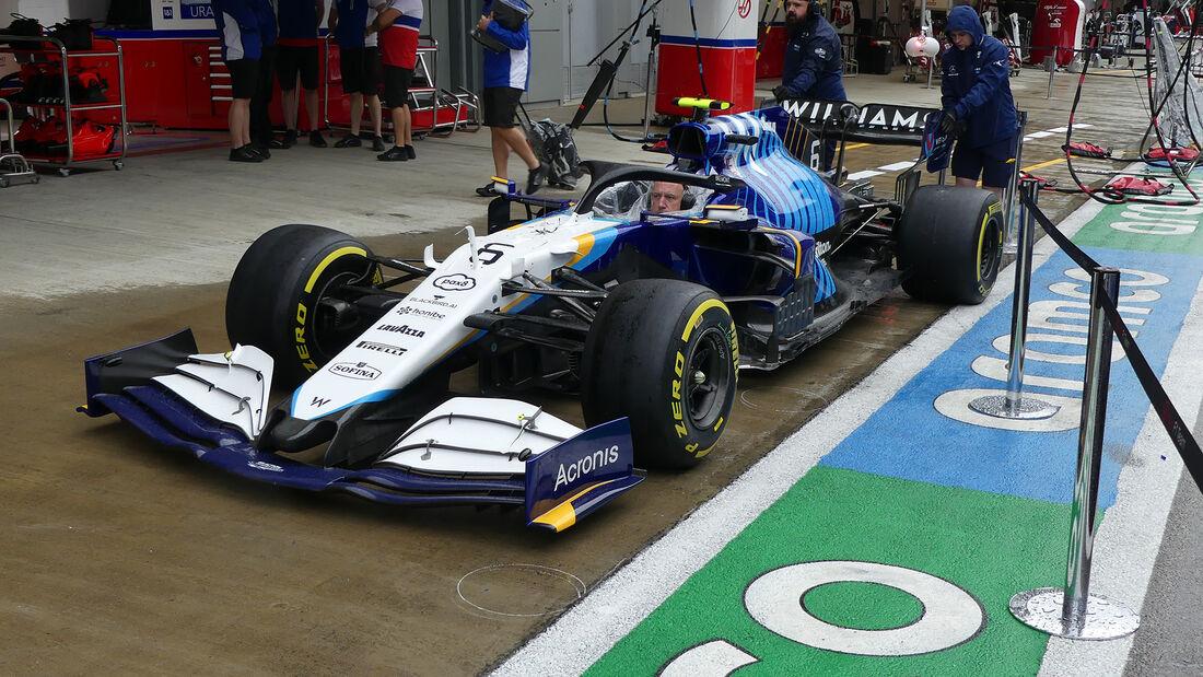 Williams - Formel 1 - GP Russland - Sotschi - Donnerstag - 23.09.2021