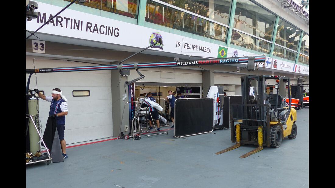 Williams - Formel 1 - GP Singapur - 17. September 2014