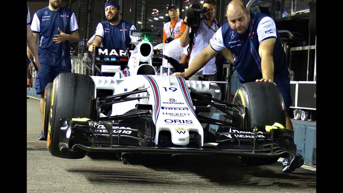 Williams - Formel 1 - GP Singapur - 17. September 2015