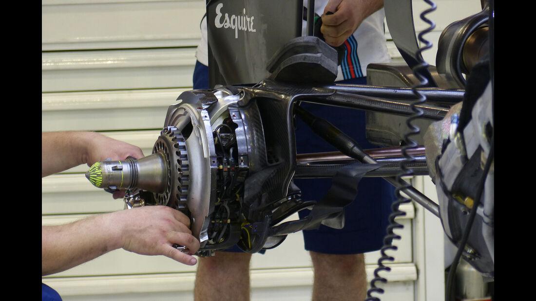 Williams - Formel 1 - GP Singapur - 18. September 2015