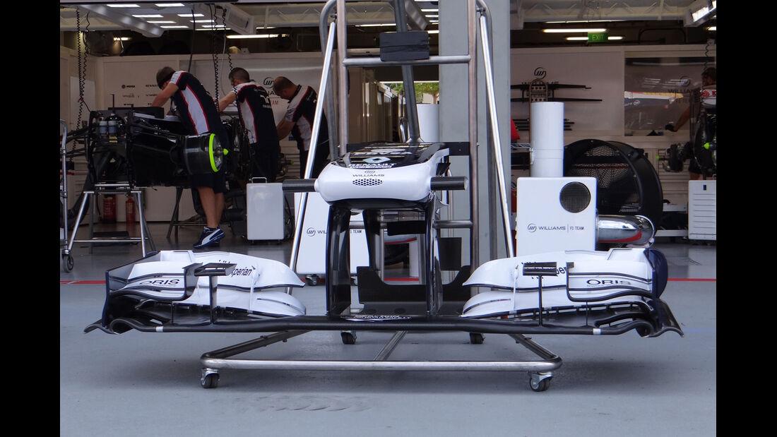 Williams - Formel 1 - GP Singapur - 19. September 2013